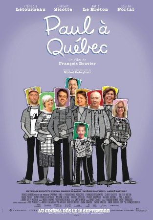Paul à Québec, Affiche