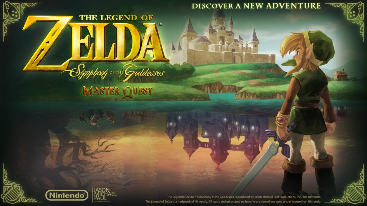 The Legend of Zelda : Symphony of the Goddesses