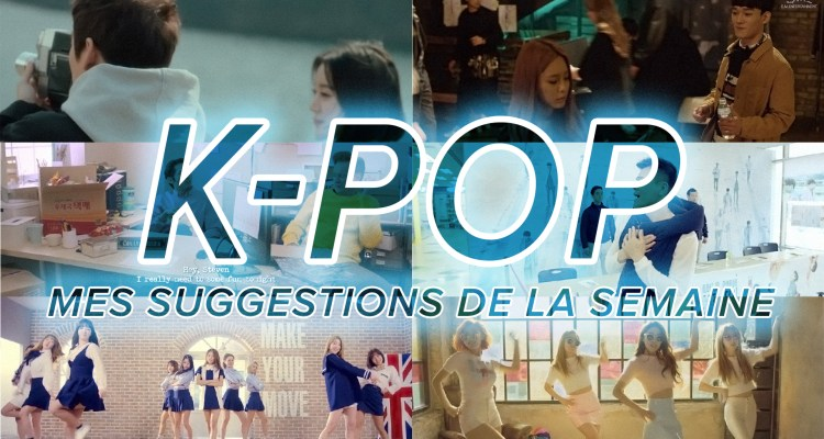 K-Pop du 3 au 9 avril 2016