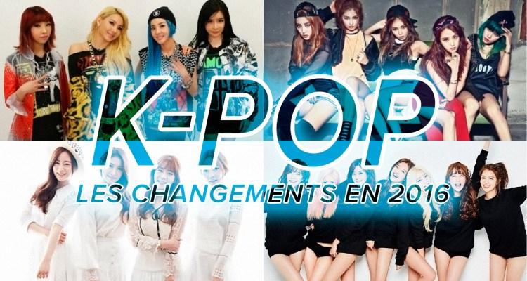 K-Pop 2016 : les changements