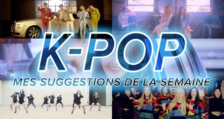 K-Pop du 9 au 15 avril 2017