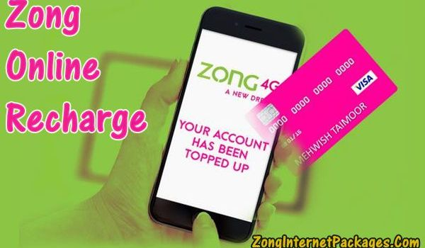 Zong Online Recharge Offer