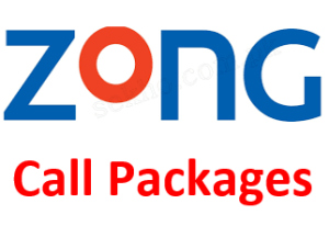 Zong Call Packages Daily, Weekly, Monthly
