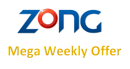 Zong Mega Weekly Offer