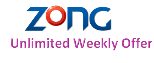 Zong Unlimited Weekly Offer