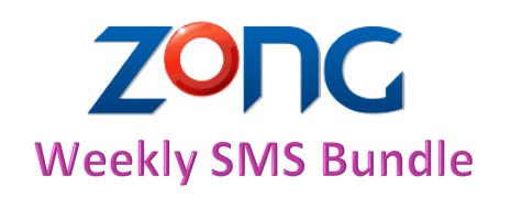 Zong Weekly SMS Bundle