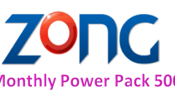 Zong Monthly Power Pack