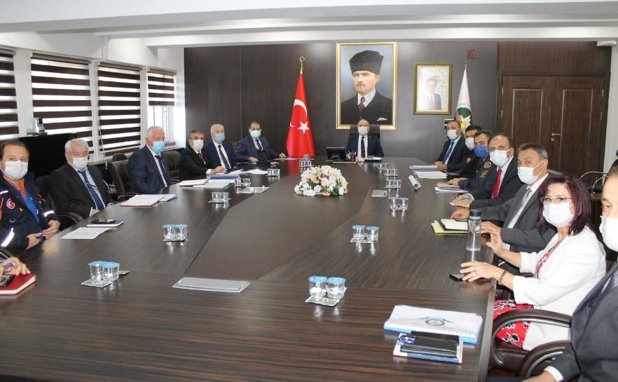 Zonguldak'ta güvenlik ve asayiş toplantısı yapıldı