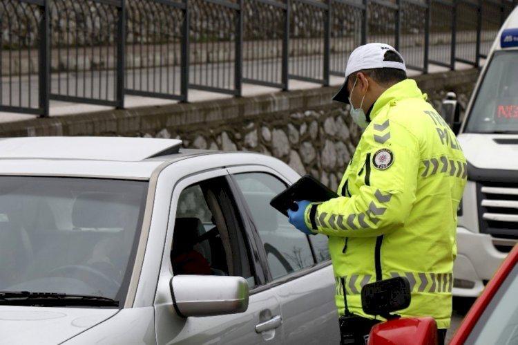 Zonguldak'ta trafik ve polis ekiplerinden denetim