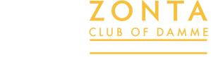 Zonta Damme logo breed