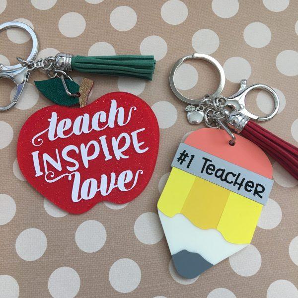 teacher keychains