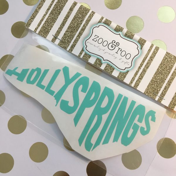 Holly Springs NC decal