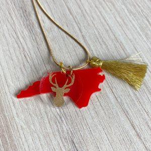 acrylic NC necklace
