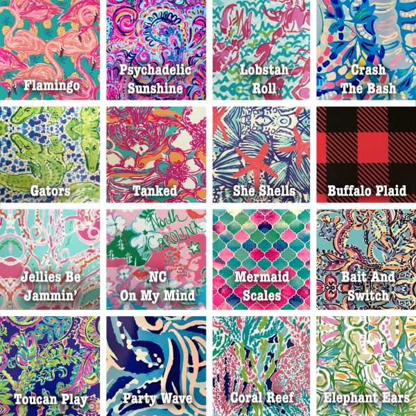 pattern vinyl choices