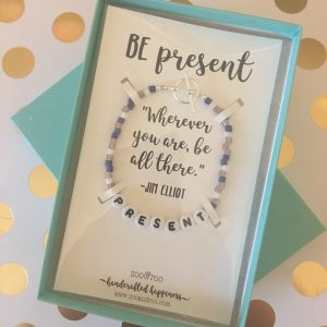 be present bracelet by zoo&roo