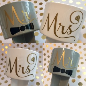 Mr & Mrs beach spikers