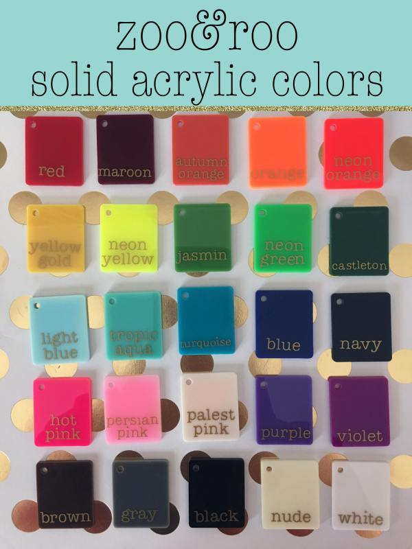 zoo&roo solid acrylic colors