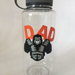 gorilla dad wide mouth bottle