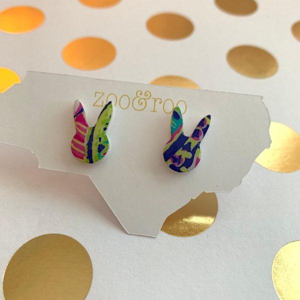 bunny earrings by zoo&roo