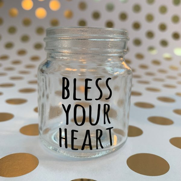 bless your heart southern sayings mini mason jar shot glass by zoo&roo