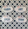 DCL finished name badge magnets
