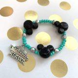 Mickey bead bracelet Alaska cruise