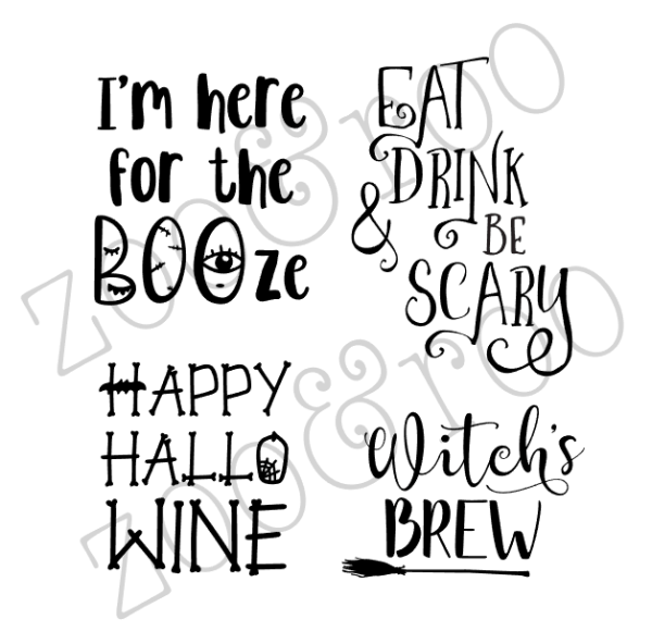 Halloween Drink Quotes by zoo&roo