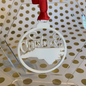 Christmas in North Carolina ornament