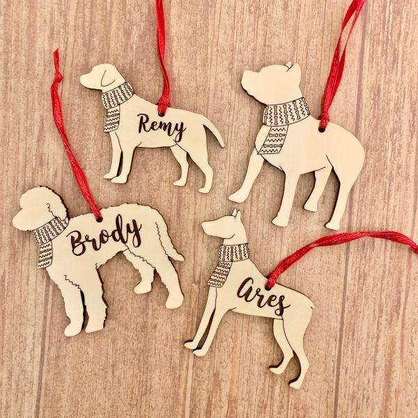 dog breed ornaments