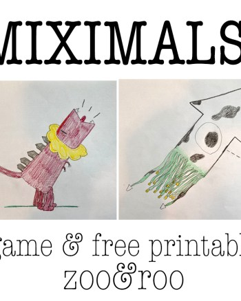 miximals game and free printable