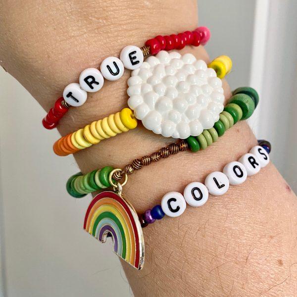 true colors DIY bracelet kit