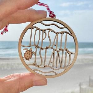 topsail island ornament
