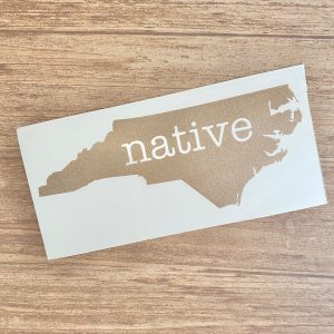 native NC decal