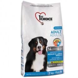 1st Choice для взрослых собак средних и крупных пород