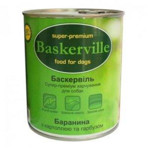 BASKERVILLE Баранина с картофелем и тыквой