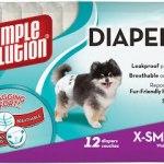 Disposable Diapers X-Small Гигиенические подгузники для животных