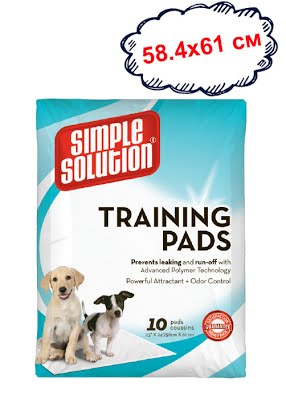 Original training pads Влагопоглощающие гигиенические пеленки для собак, 10 шт.