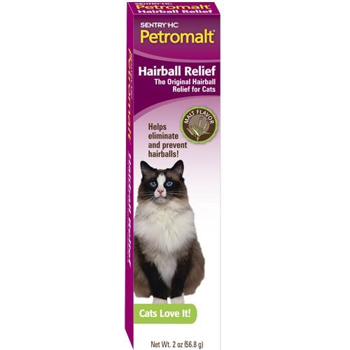 Шерстевыводящие пасты для кошек