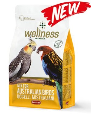 Wellness parrocchetti australian Комплексный корм для австралийских попугаев