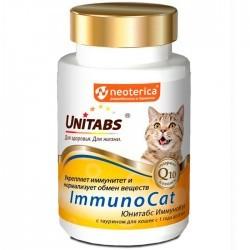 Unitabs IMMUNOCAT — витаминно-минеральная добавка с таурином для иммунитета кошек (таблетки)