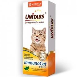 Unitabs IMMUNOCAT — витаминно-минеральная добавка с таурином для иммунитета кошек (паста)