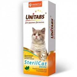Unitabs STERILCAT — витаминно-минеральная добавка для кастрированных котов и стерилизованных кошек (паста)