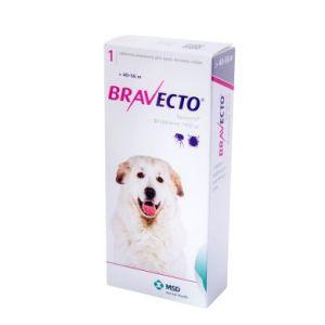 Бравекто (Bravecto) таблетки от блох и клещей для собак весом от 40 до 56 кг, 1400 мг