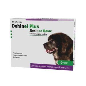 Дехинел Плюс (Dehinel Plus), таблетки № 10
