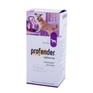Профендер для собак, 6 таблеток