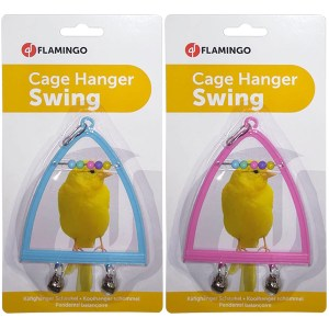 Karlie-Flamingo Swing+Abacus+Bell КАРЛИ-ФЛАМИНГО игрушка для птиц