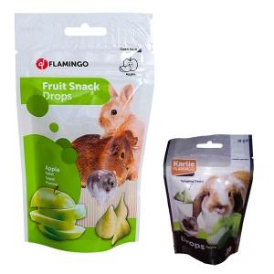 Karlie-Flamingo (КАРЛИ-ФЛАМИНГО) DROPS APPLE лакомство для грызунов дропсы с яблоком
