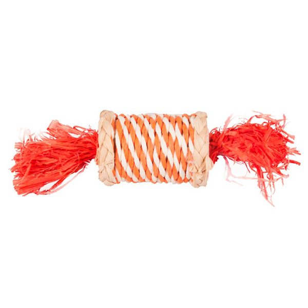 Karlie-Flamingo ROLE N RUSTLE конфетка из соломы игрушка для грызунов