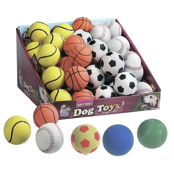 Karlie-Flamingo Spongeball Sport КАРЛИ-ФЛАМИНГО игрушка для собак