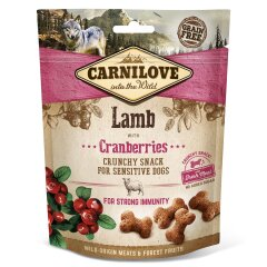 Лакомство для собак Carnilove Lamb with Cranberries 200 г (для иммунитета)